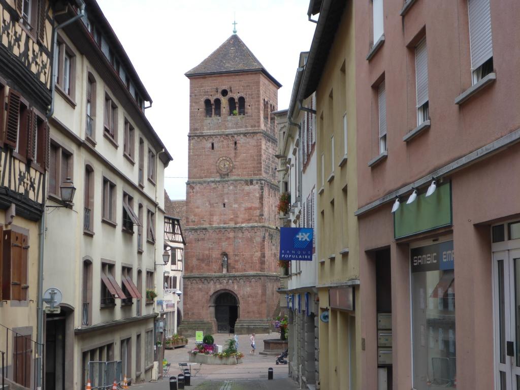 Innenstadt von Saverne (Bild: Klaus Dapp)