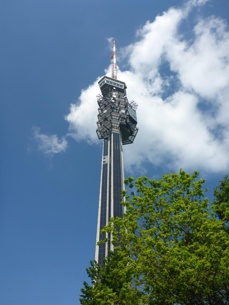 Fernsehturm auf der St. Chrischona (Bild: Klaus Dapp)