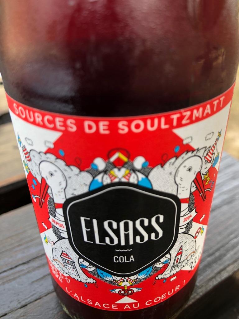 Elsass-Cola mit Storch (Bild: Klaus Dapp)