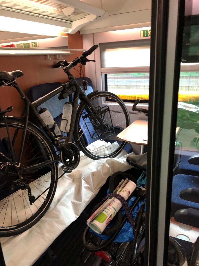 Fahrradtransport im ICE (Bild: Klaus Dapp)