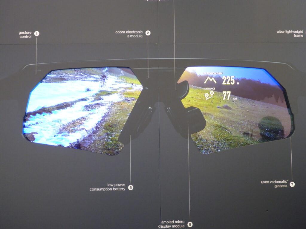 Datenbrille für das ambitionierte Radfahren (Bild: Klaus Dapp)