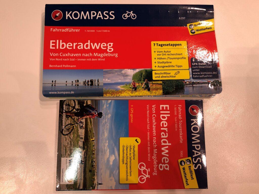 Kompass Fahrradführer und Fahrrad-Tourenkarte (Bild: Klaus Dapp)