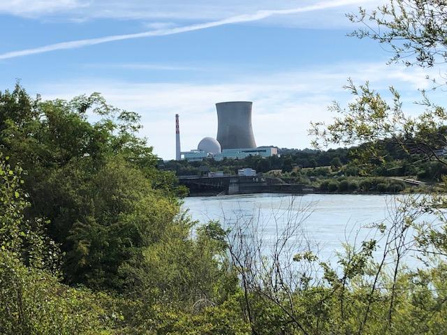 Atomkraftwerk Leibstadt in der Schweiz (Bild: Klaus Dapp)