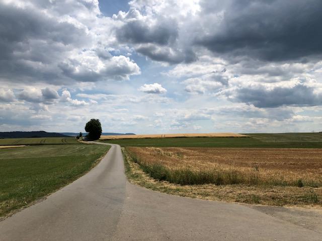 Landschaft bei Schwenningen (Bild: Klaus Dapp)
