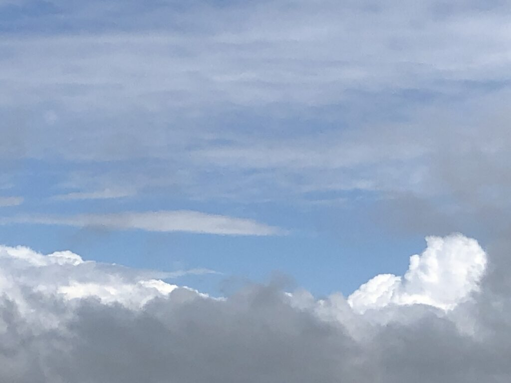 Blauer Himmel (Bild: Klaus Dapp)
