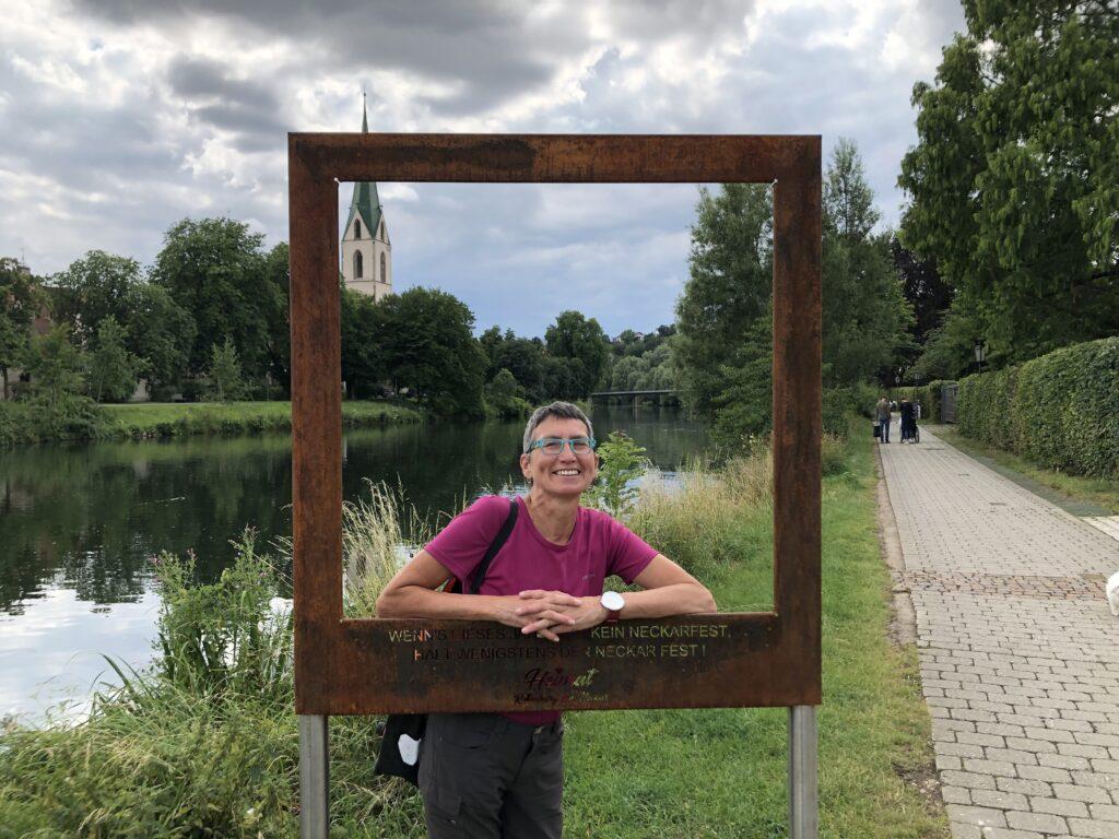 Herzallerliebste am Neckar gerahmt (Bild: Klaus Dapp)