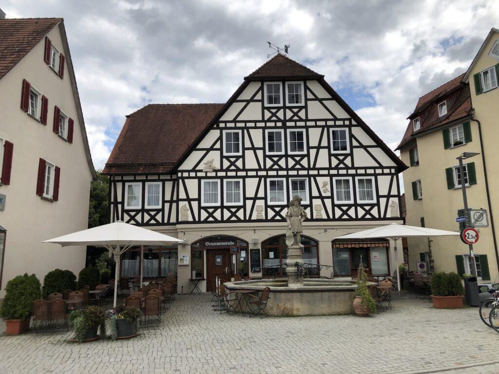 Marktplatz in Rottenburg am Neckar (Bild: Klaus Dapp)