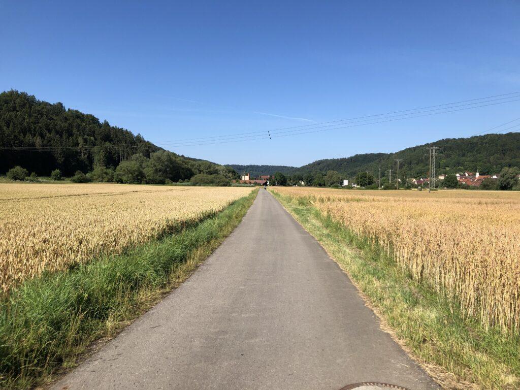 Abwärts Richtung Nagold (Bild: Klaus Dapp)