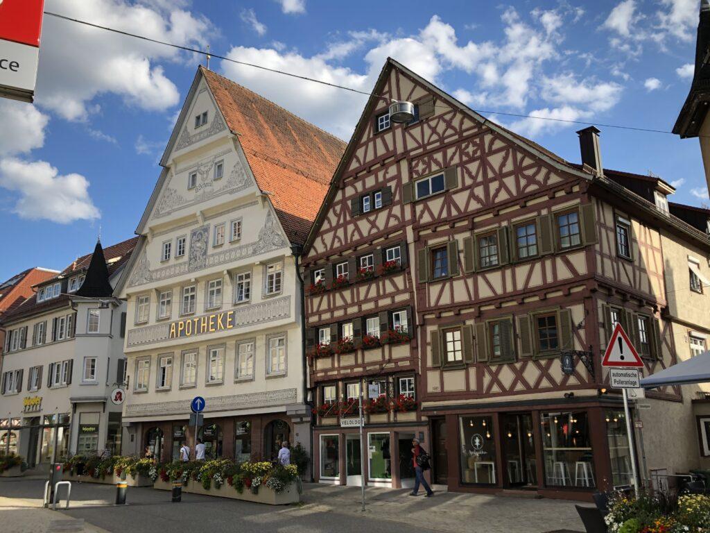 Innenstadt in Nagold (Bild: Klaus Dapp)