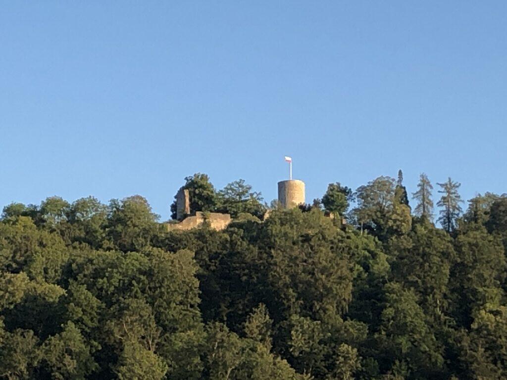 Blick auf die Festung Hohennagold (Bild: Klaus Dapp)