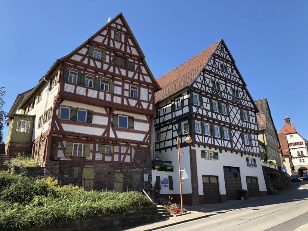 Fachwerkhäuser in Wildberg (Württemberg) (Bild: Klaus Dapp)