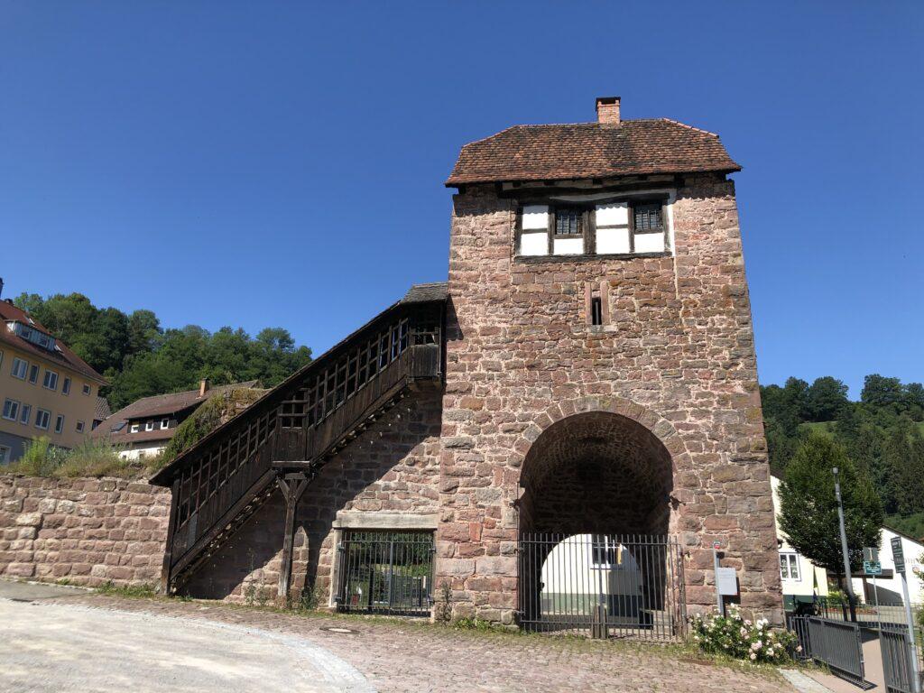 Turm in Wildberg (Württemberg) (Bild: Klaus Dapp)