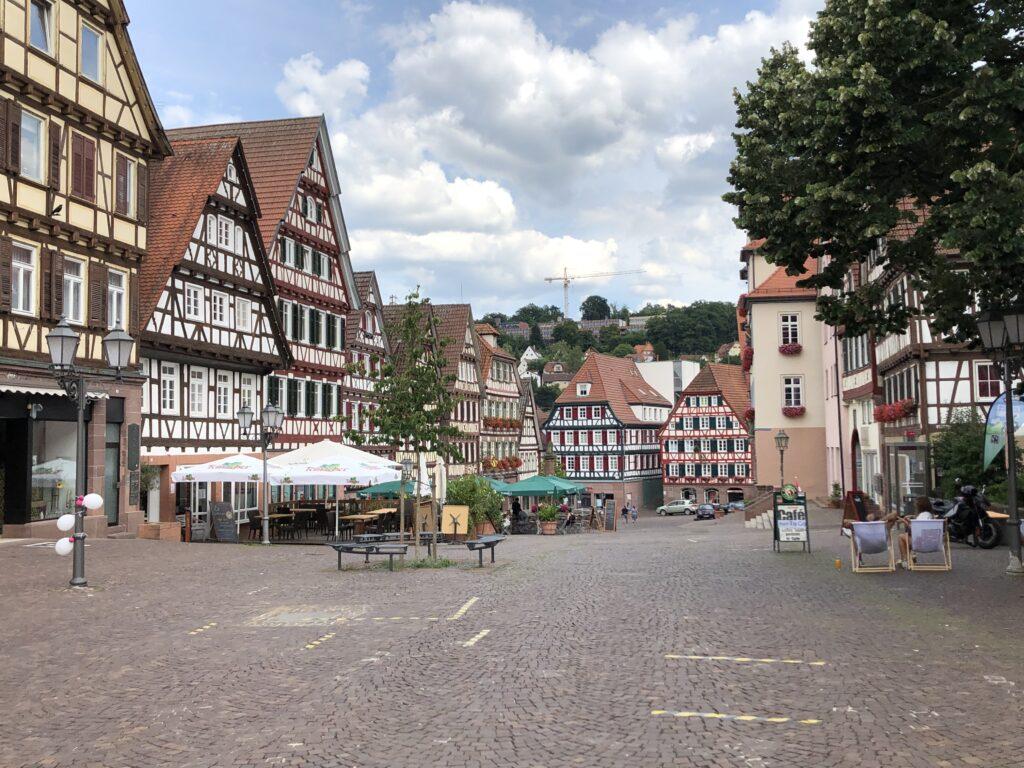 Marktplatz in Calw (Bild: Klaus Dapp)