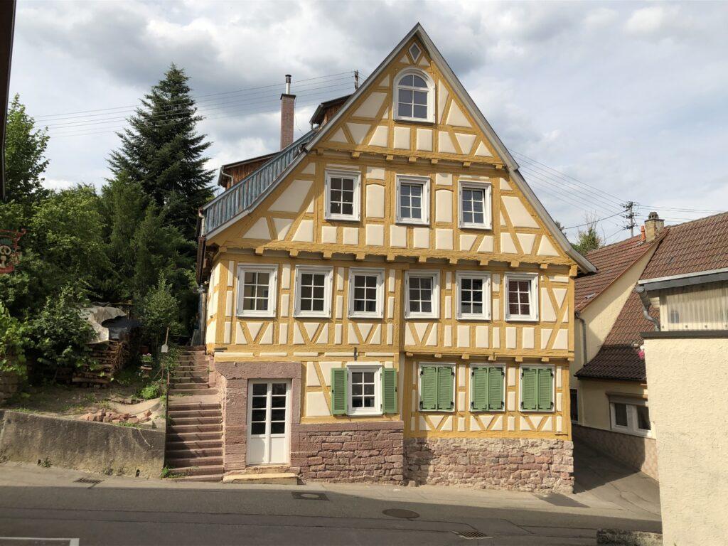 Fachwerkhaus in Calw (Bild: Klaus Dapp)