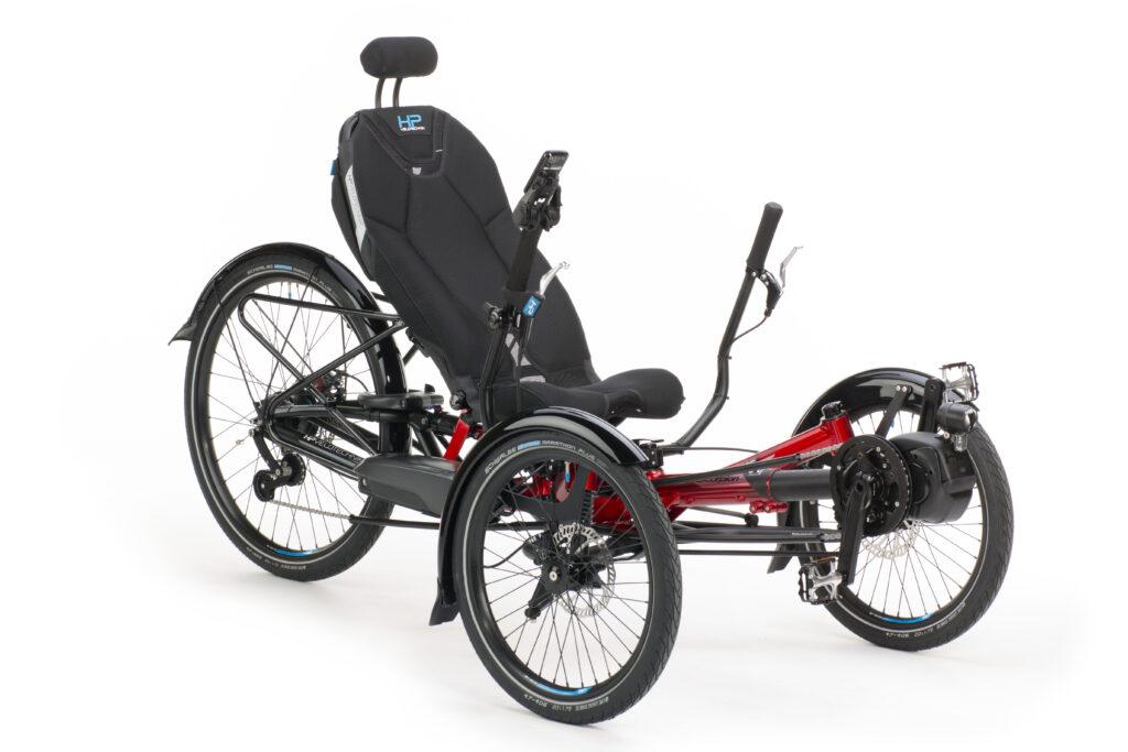 Scorpion Plus 26 mit ErgoMesh Premium-Sitz (Bild: HP-Velotechnik)