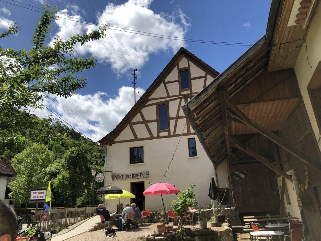 Bistrot Chez Mamie Flo in Biederthal (Bild: Klaus Dapp)