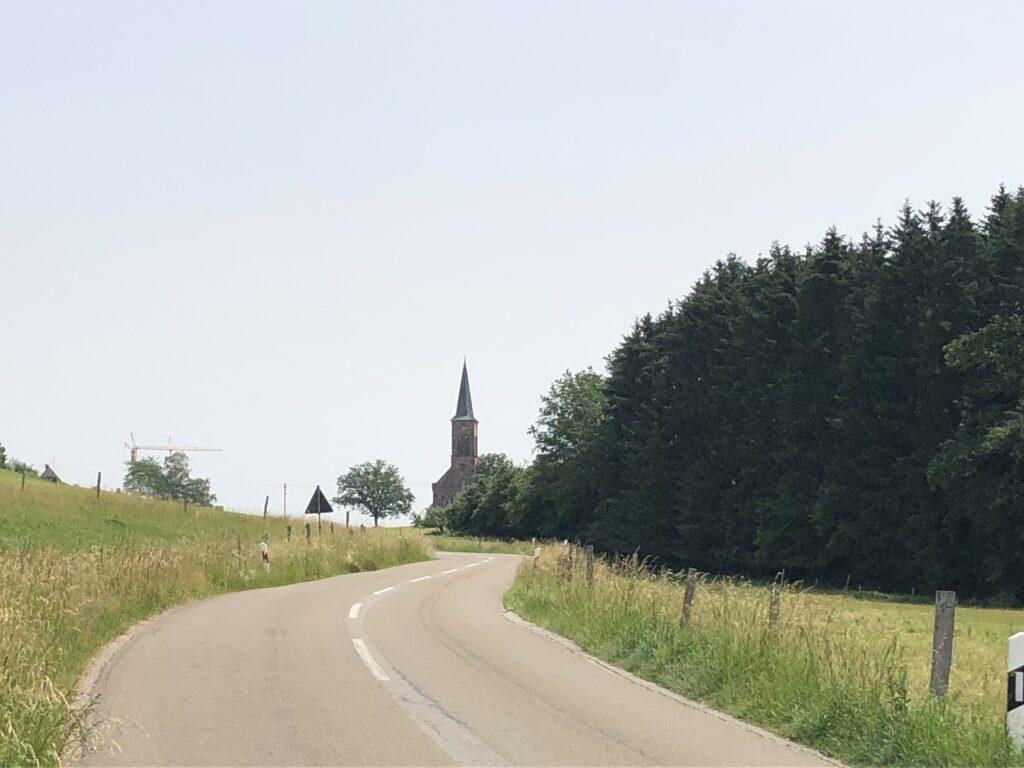 Evangelische Kirche in Hofen (Ortsteil von Steinen - Bild: Klaus Dapp)