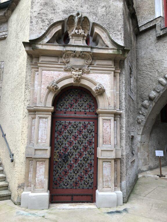 Tür beim Schloss Sigmaringen (Bild: Klaus Dapp)