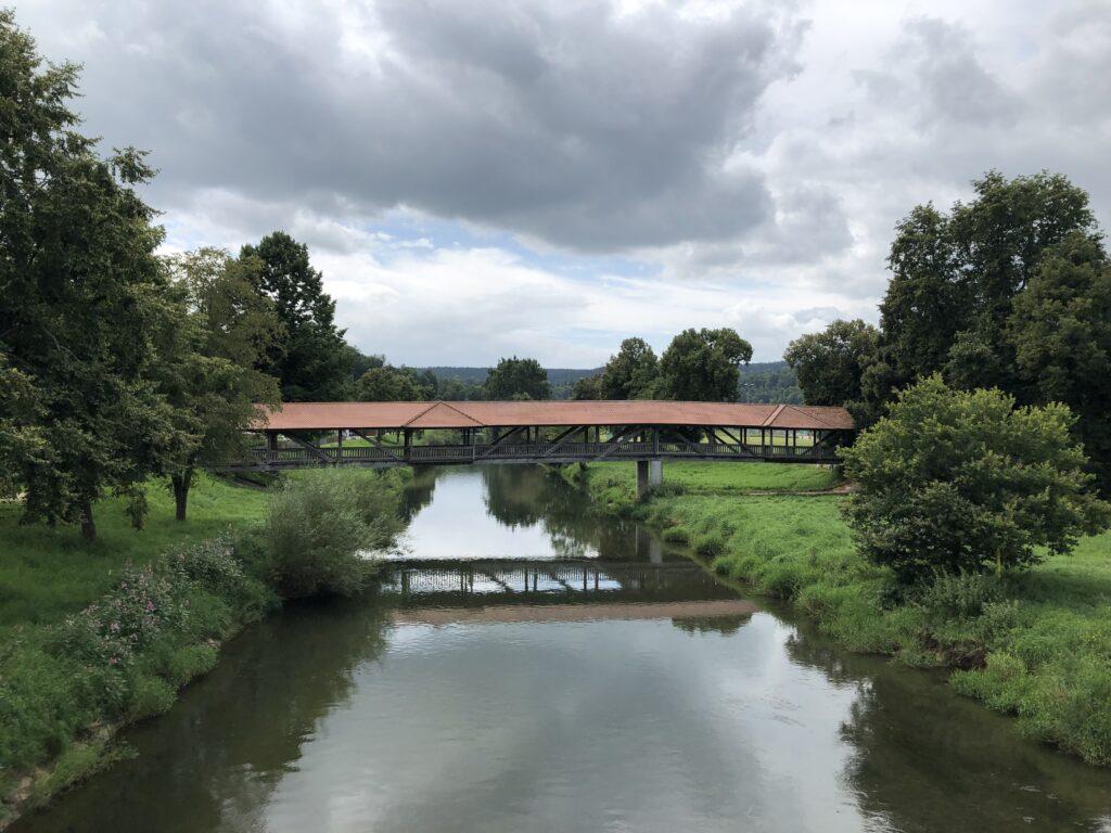 Holzbrücke bei Leibertingen (Bild: Klaus Dapp)