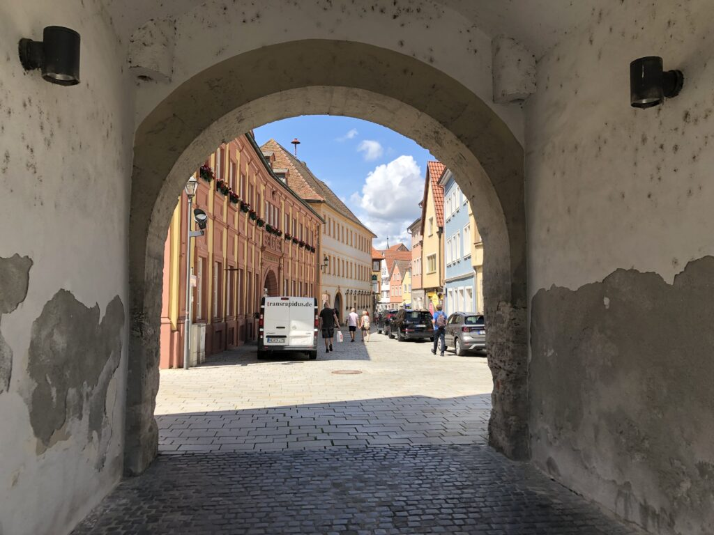 Blick in die Altstadt von Ochsenfurt (Bild: Klaus Dapp)
