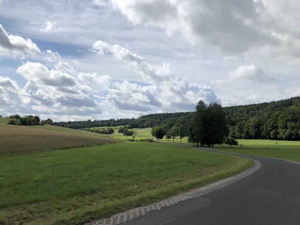 Übergang ins Maintal (Bild: Klaus Dapp)