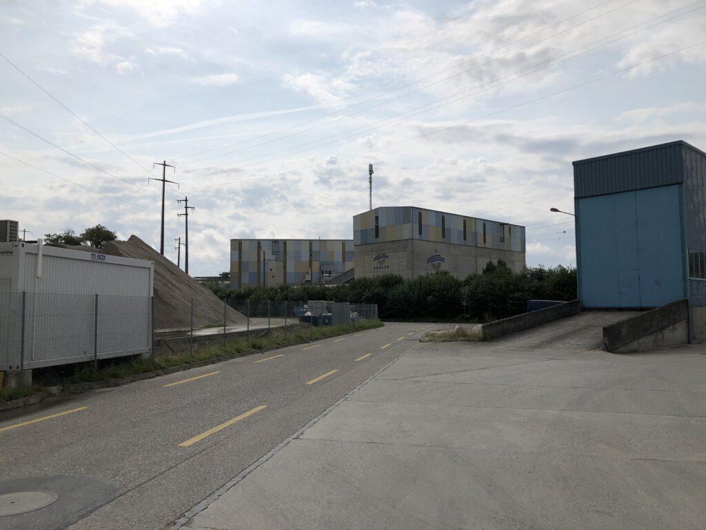 Abschnitt durch ein Industriegebiet (Bild: Klaus Dapp)