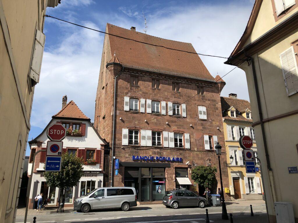 Stadthaus in Wissembourg (Bild: Klaus Dapp)