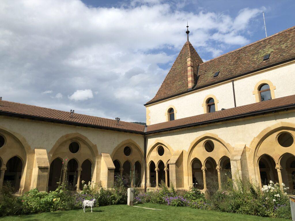 Kreuzgang der Burgkirche (Bild: Klaus Dapp)