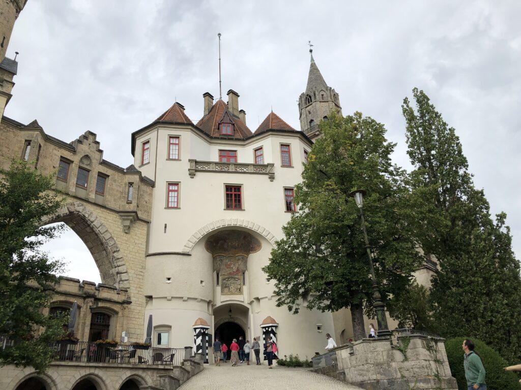 Eingang zum Schloss Sigmaringen (Bild: Klaus Dapp)