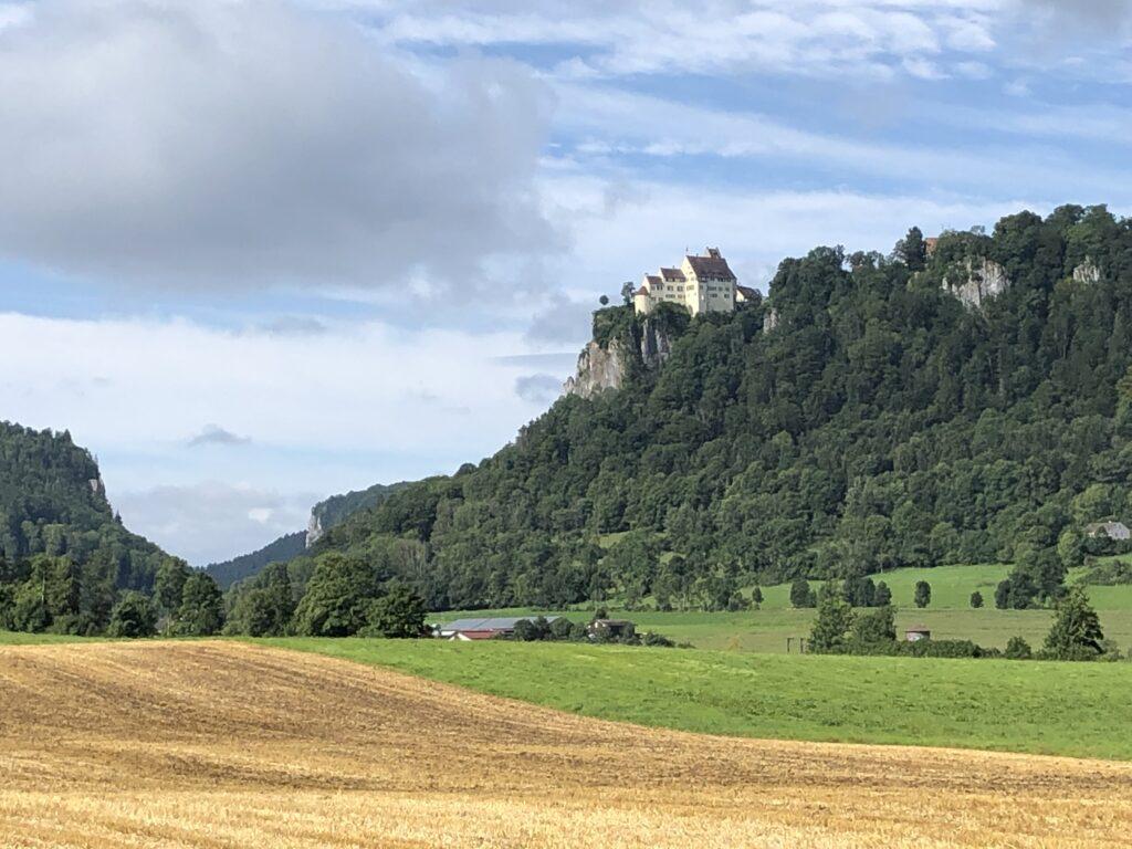 Burg Werenwag bei Hausen (Bild: Klaus Dapp)