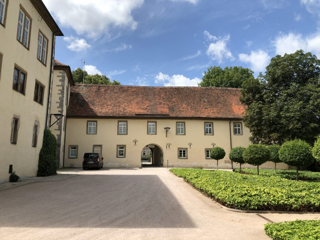 Schloss Schrozberg (Bild: Klaus Dapp)