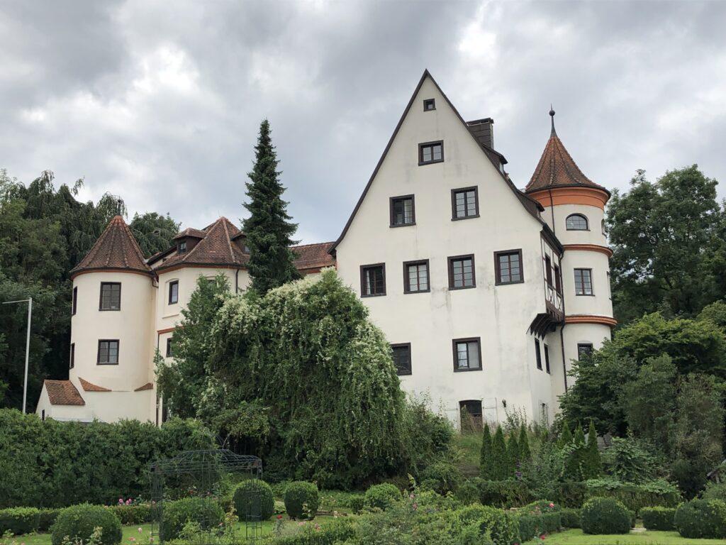 Hängegarten bei Schloss Neufra (Bild: Klaus Dapp)