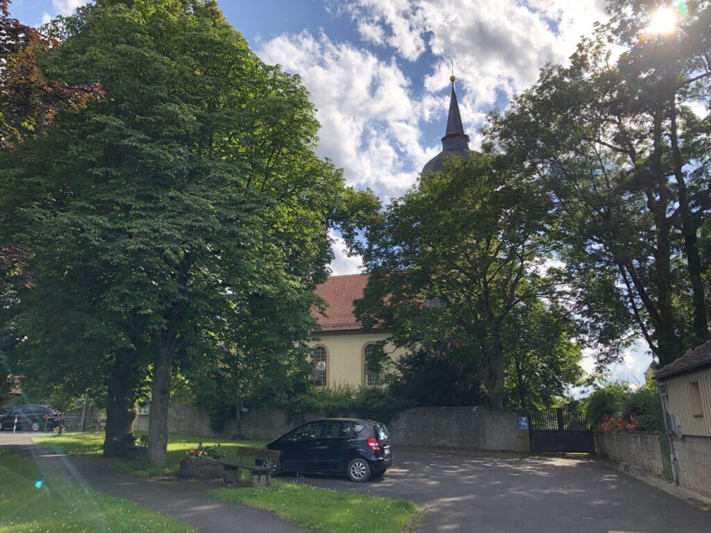 Evangelisch lutherische Dreifaltigkeitkirche in Aub (Bild: Klaus Dapp)
