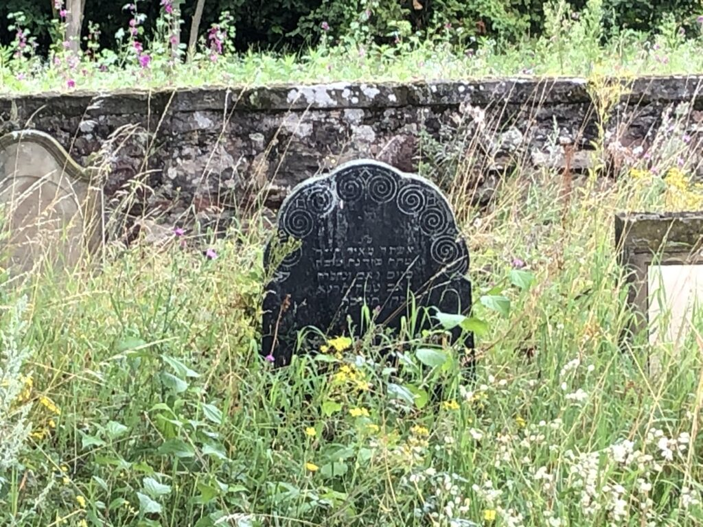 Jüdischer Friedhof in Lambsheim (Bild: Klaus Dapp)