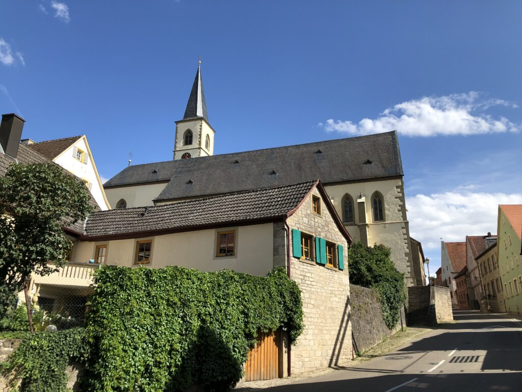 Kirche Mariä Himmelfahrt in Aub (Bild: Klaus Dapp)