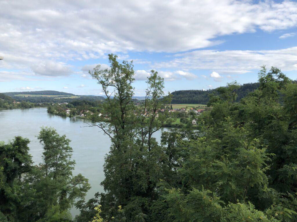 Blick auf den Rhein in Richtung Bodensee (Bild: Klaus Dapp)