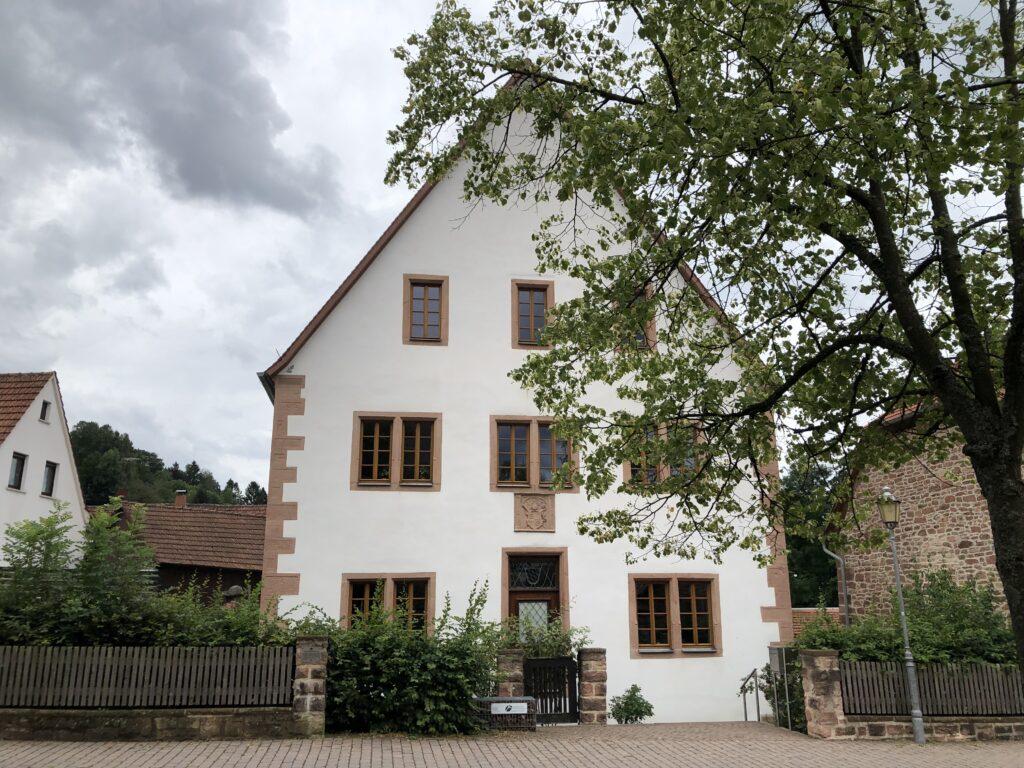 Zehntscheuer in Rothenbuch - aktuell für die Forstverwaltung genutzt (Bild: Klaus Dapp)
