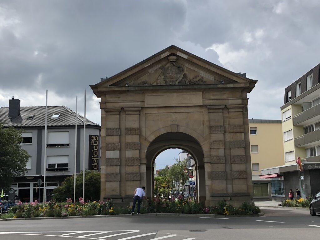 Wormser Tor in Frankenthal (Bild: Klaus Dapp)