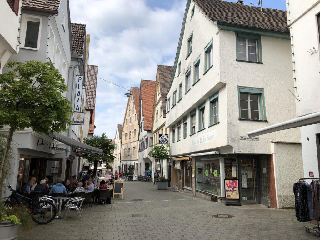 Fußgängerzone in Riedlingen (Bild: Klaus Dapp)