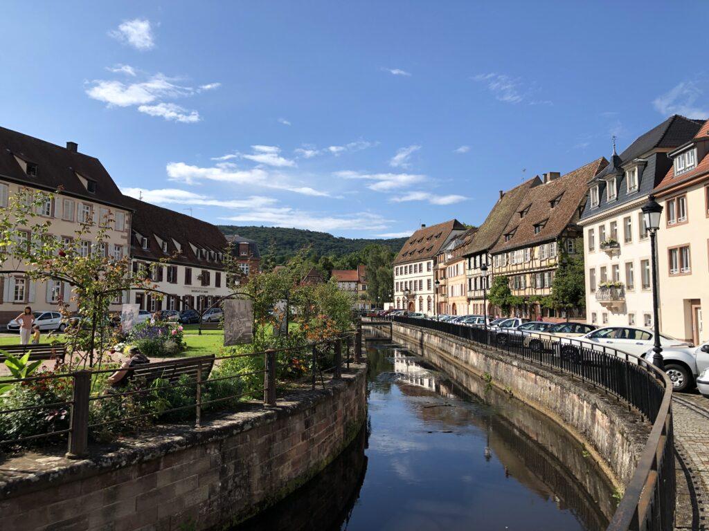 Der Kanal der Lauter in Wissembourg (Bild: Klaus Dapp)