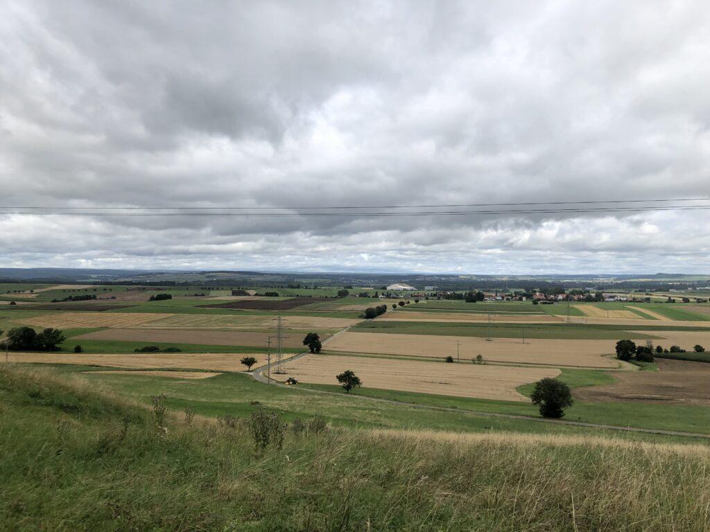 Blick von Fürstenberg über das Donauried (Bild: Klaus Dapp)