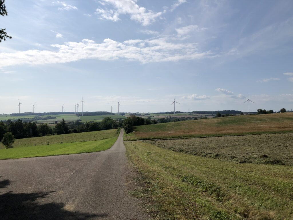 Hochebene westlich von Kirchberg an der Jagst (Bild: Klaus Dapp)