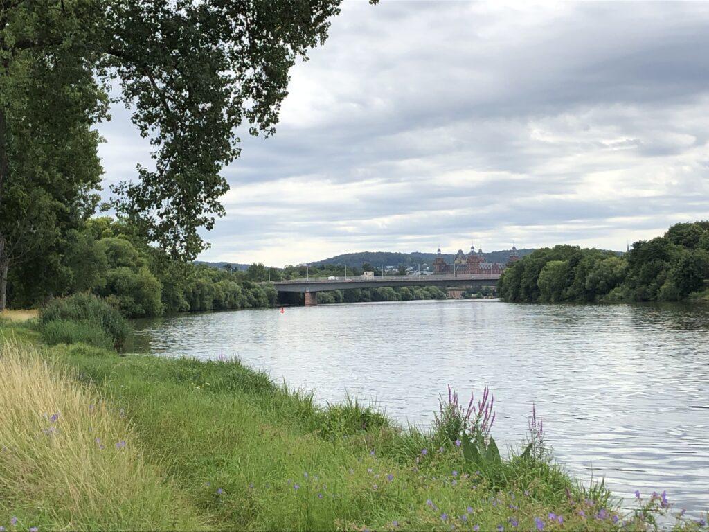 Blick nach Aschaffenburg (Bild: Klaus Dapp)