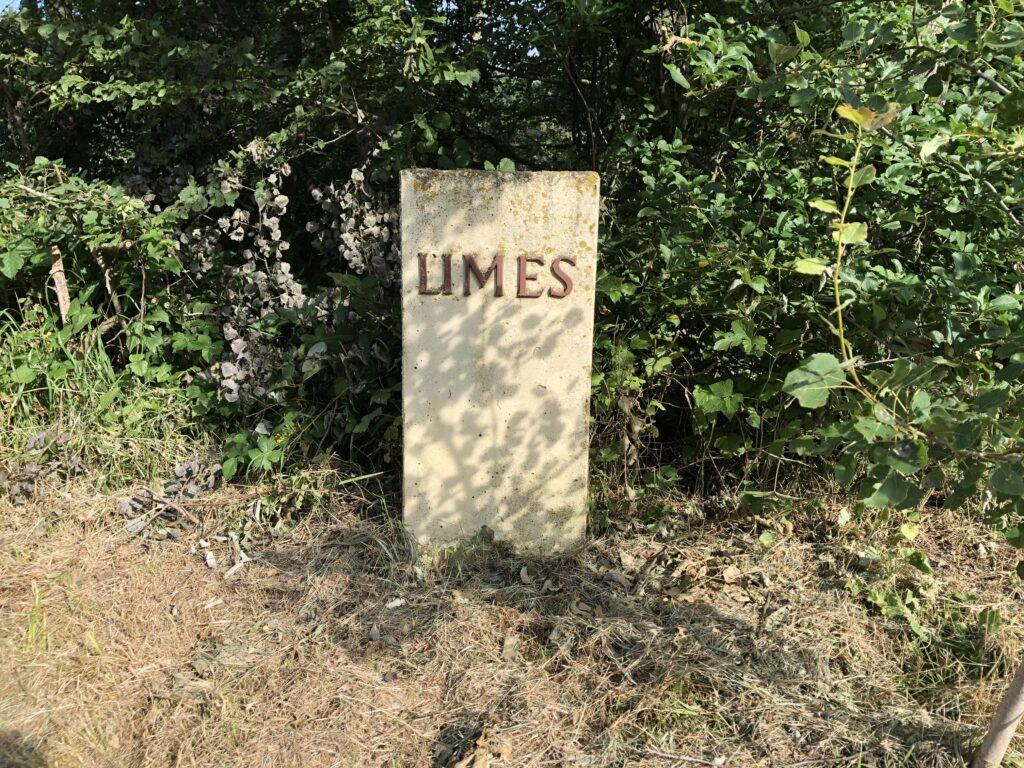 Limes bei Buch / Strütbach (Bild: Klaus Dapp)