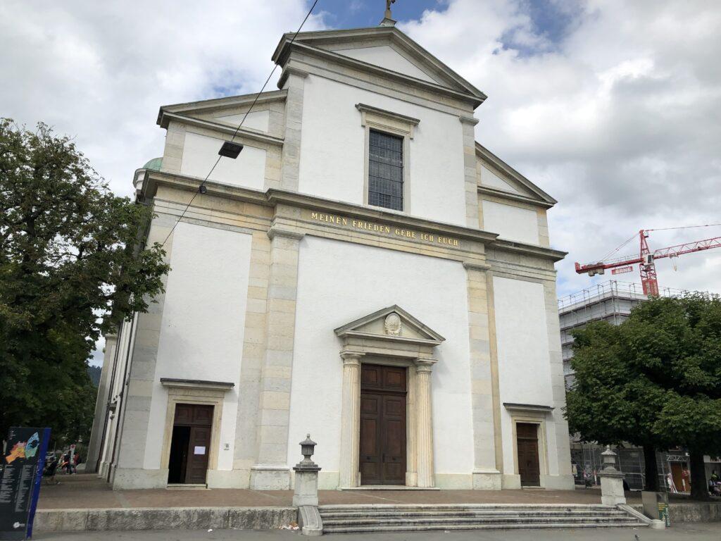 Evangelische Kirche in Olten (Bild: Klaus Dapp)