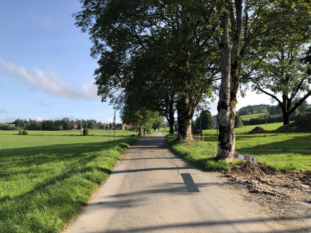 Zufahrt nach La Chaux de Fonds (Bild: Klaus Dapp)
