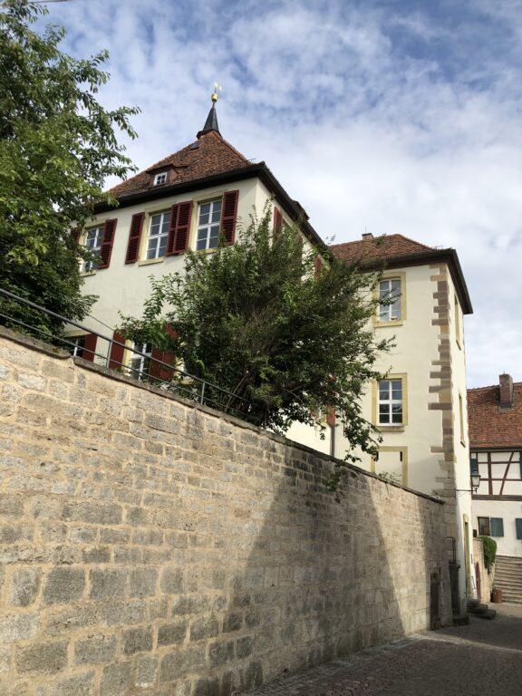 Schloss in Creglingen (Bild: Klaus Dapp)