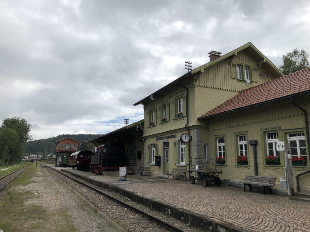 Bahnhof Blumberg-Zollhaus der Sauschwänzlebahn (Bild: Klaus Dapp)