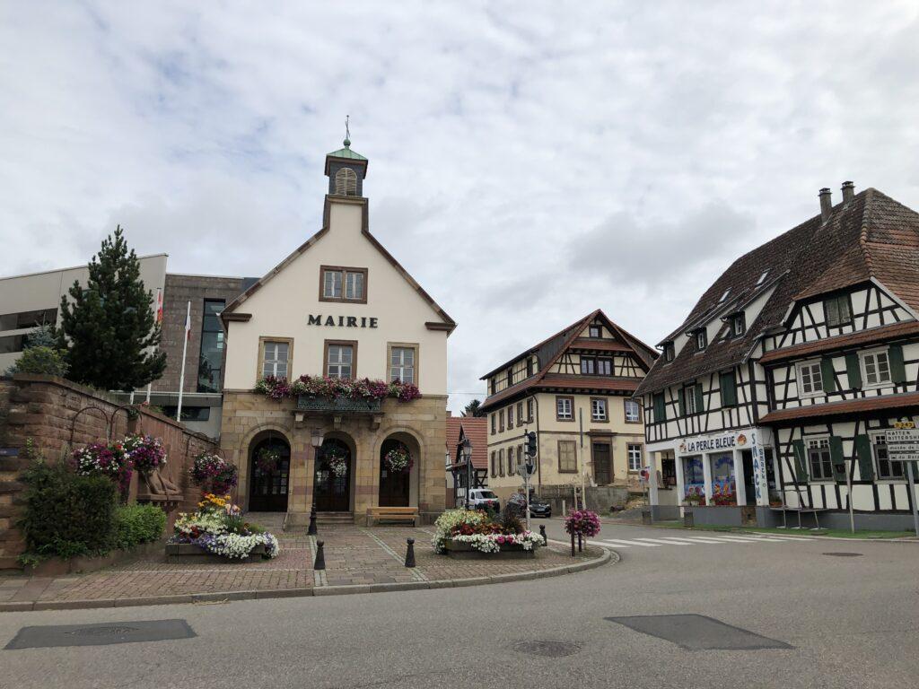 Rathaus in Beschdorf (Bild: Klaus Dapp)