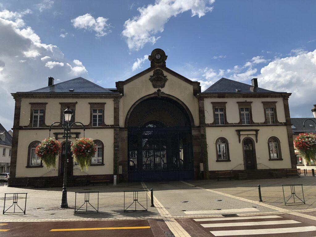 Markthalle in Haguenau (Bild: Klaus Dapp)